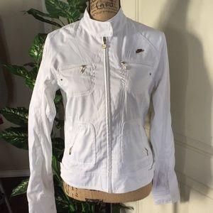 Nike white coat